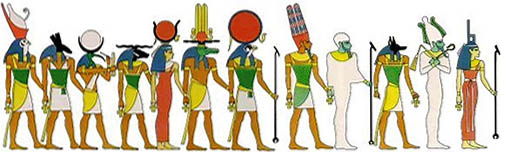 Egyptian deities
